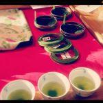 佐伯まちゼミ「緑茶の飲み比べ」準備中!
